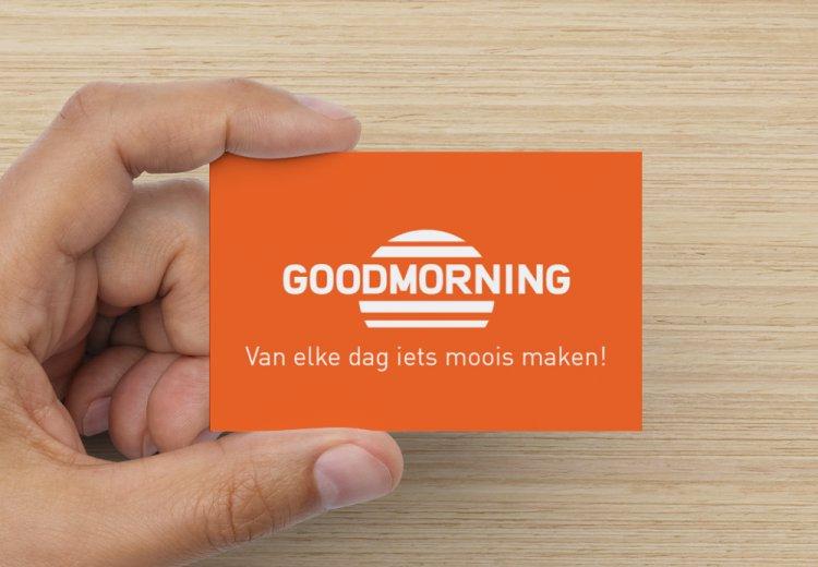 Goodmorning visitekaartjes