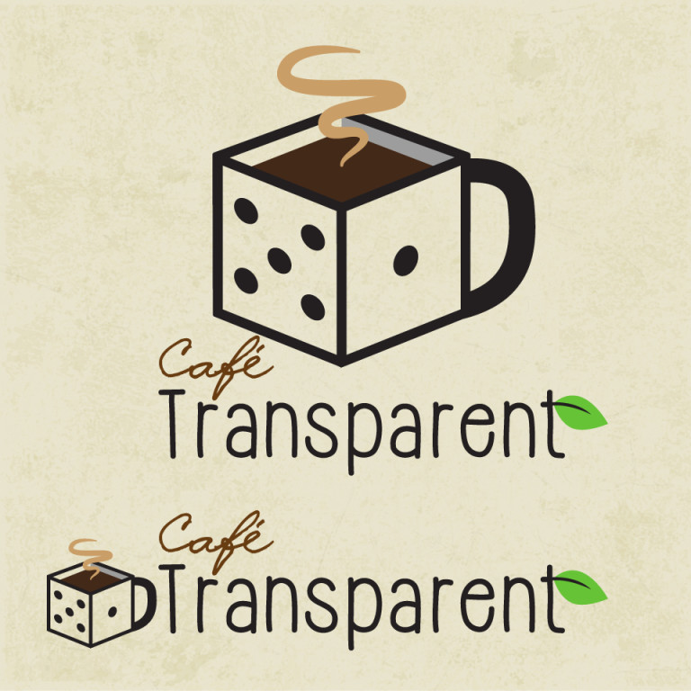 "Logo ontwerp ""Cafe Transparant"""