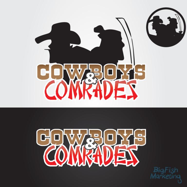 "Logo ontwerp ""Cowboys & Comrades"""
