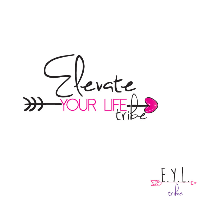 "Logo ontwerp ""Elevate your life tribe"""